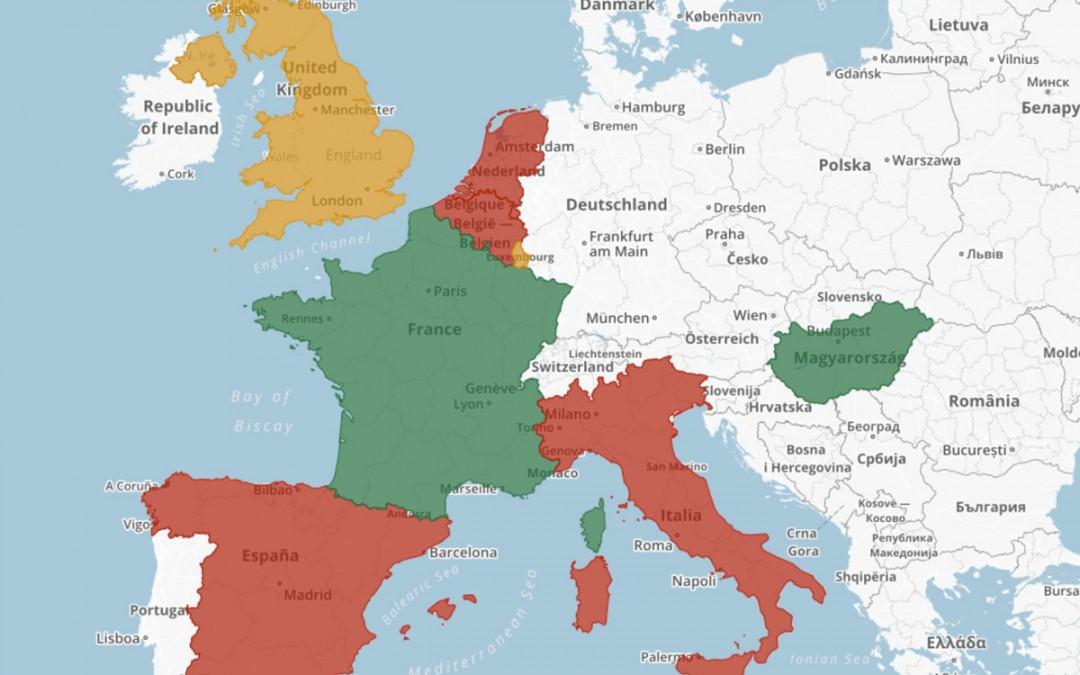 Proprietà intellettuale: le mappe dei regimi fiscali europei