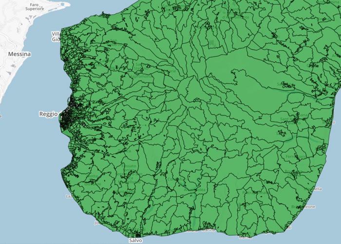 Carta degli Aiuti di Stato della Calabria